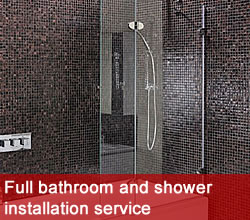 Bathroom and shower fitters, Manchester plumbers